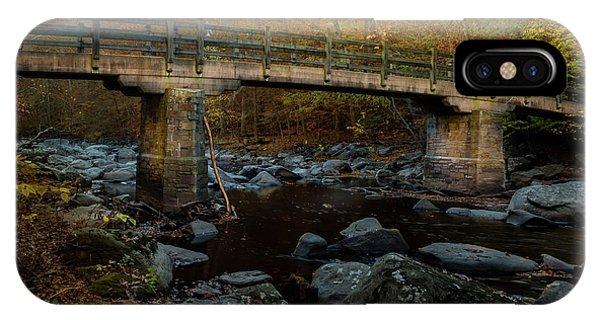 Rock Creek Park Bridge IPhone Case