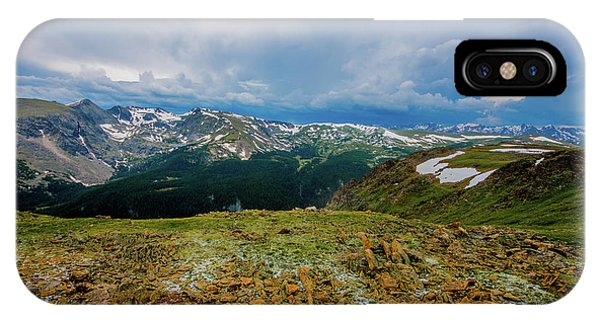 Rock Cut 2 - Trail Ridge Road IPhone Case
