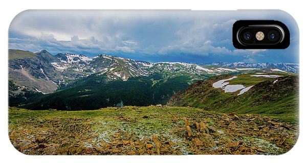 Rock Cut 2 - Trail Ridge Road IPhone Case