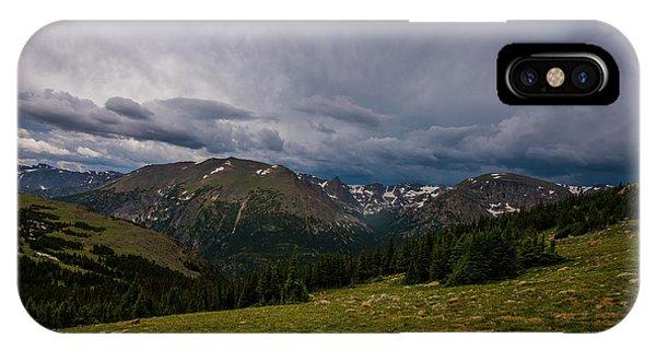 Rock Cut 3 - Trail Ridge Road IPhone Case