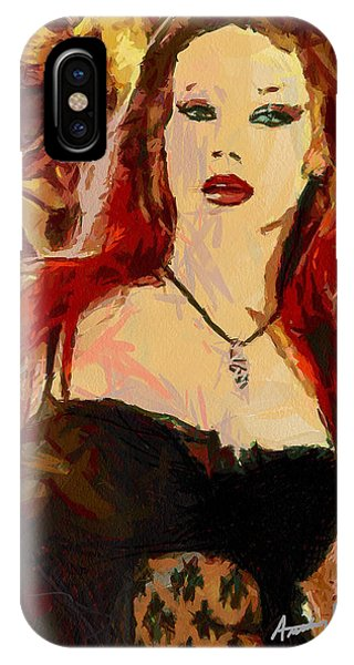 Rock Diva Phone Case by Anthony Caruso