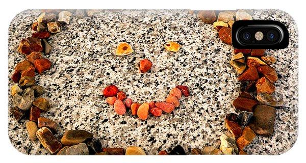 Rock Face On Granite IPhone Case