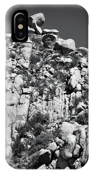 Rock Face Sandia Mountain IPhone Case