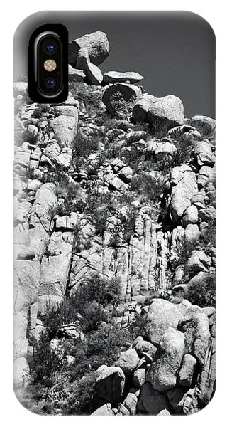 Rock Face Sandia Mountain IPhone Case