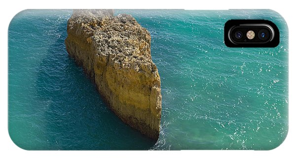 Rock Formation And The Sea In Algarve IPhone Case