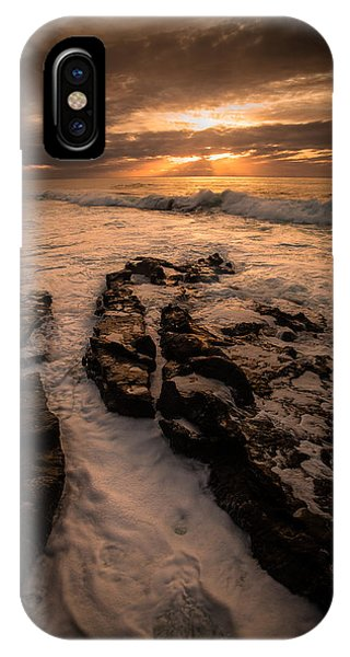 Rock Formations On The Shore IPhone Case