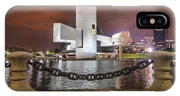 Rock Hall And The North Coast IPhone Case
