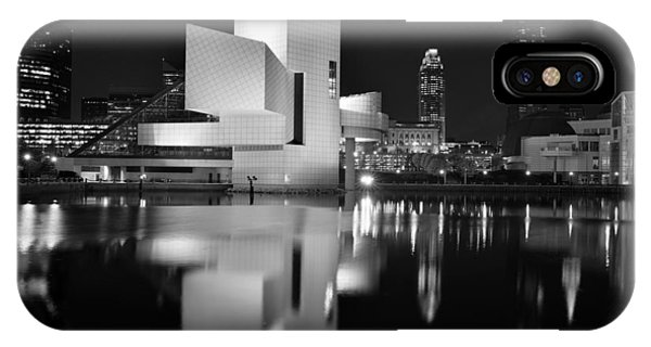 Rock Hall Reflections IPhone Case
