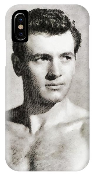 Rock Hudson, Vintage Actor IPhone Case