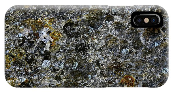 Rock Lichen Surface IPhone Case