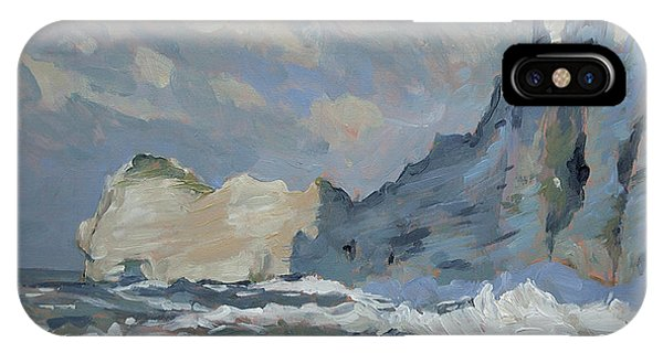Rock Of Amont Etretat IPhone Case