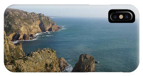 Rocks Near To Cabo Da Roca IPhone Case