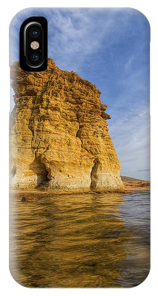 Rock Pillar At Wilson Lake IPhone Case