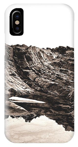 Rock - Sepia Detail IPhone Case