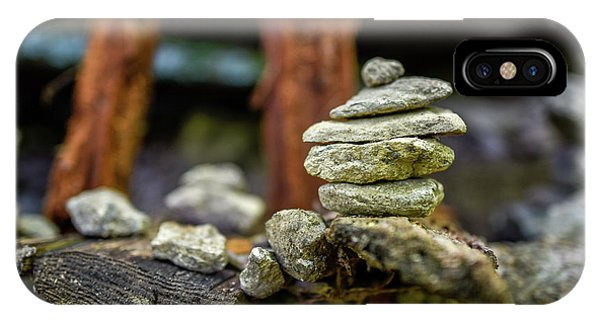 Rock Stack IPhone Case