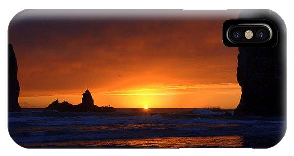 Rock Sunset IPhone Case