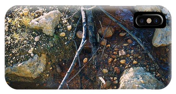 Rock Water Lake Phone Case by Simonne Mina