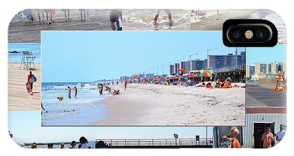 Rockaway Beach And Boardwalk 003 IPhone Case