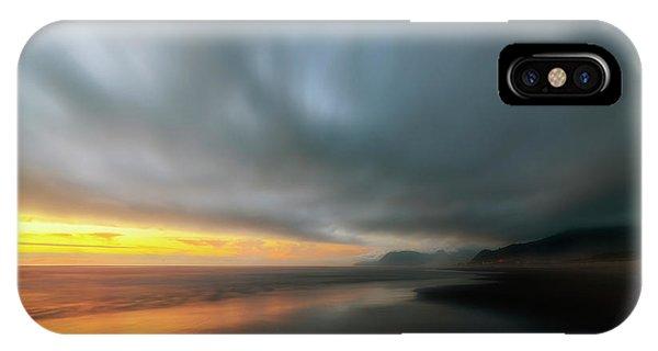 Rockaway Sunset Bliss IPhone Case
