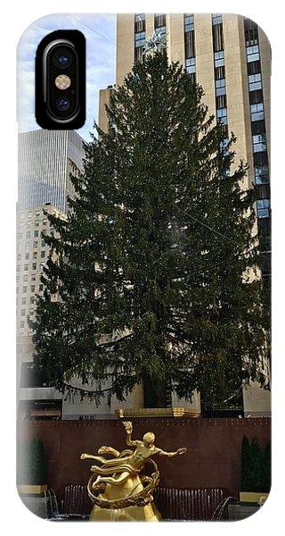 Rockefeller Center Christmas Tree IPhone Case
