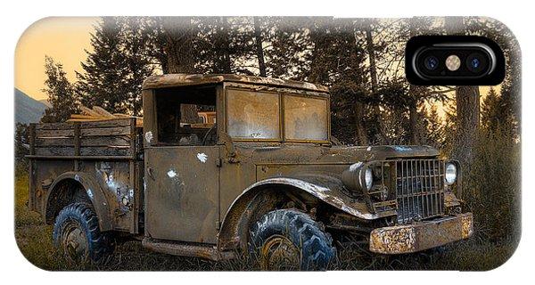 Rockies Transport IPhone Case