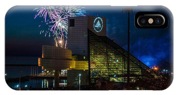 Rocking Fireworks IPhone Case