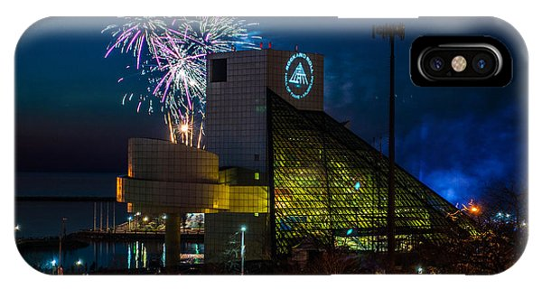 Rocking Fireworks IPhone Case