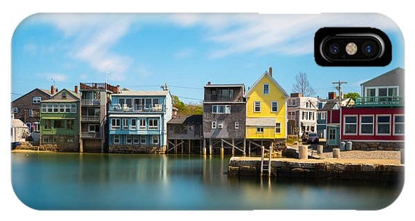IPhone Case featuring the photograph Rockport Dock by Brian Hale