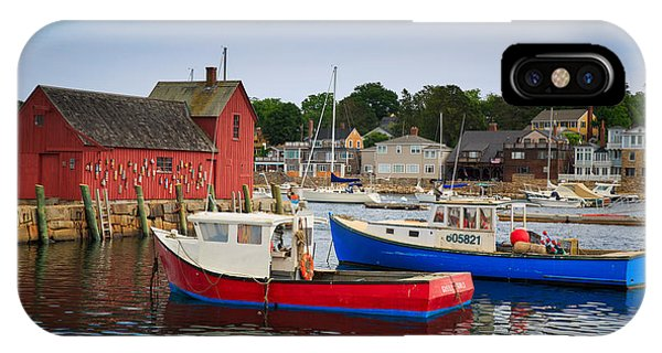 Chatham iPhone Case - Rockport Harbor 2 by Emmanuel Panagiotakis