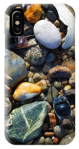 Rocks And Shells On Sandy Neck Beach IPhone Case
