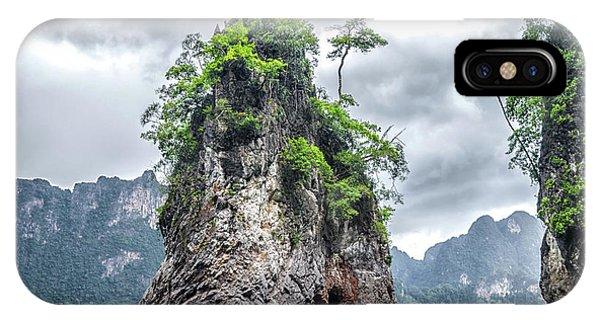 Rocks At Khao Sok IPhone Case