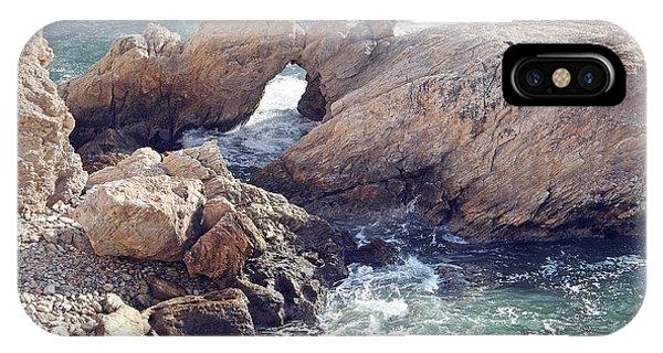 Rocks At Montana De Oro IPhone Case