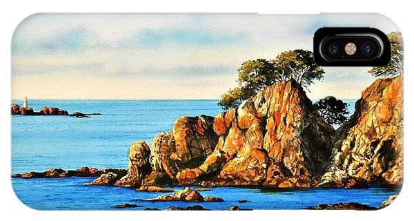 Rocks At Palafrugel,calella, Spain IPhone Case