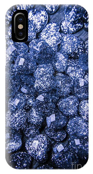 Jewelery iPhone Case - Rocks Of Blue Romance by Jorgo Photography - Wall Art Gallery