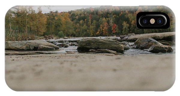 Rocks On Cumberland River IPhone Case