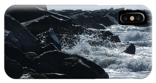 Rocks On The Jetti At Cocoa Beach IPhone Case