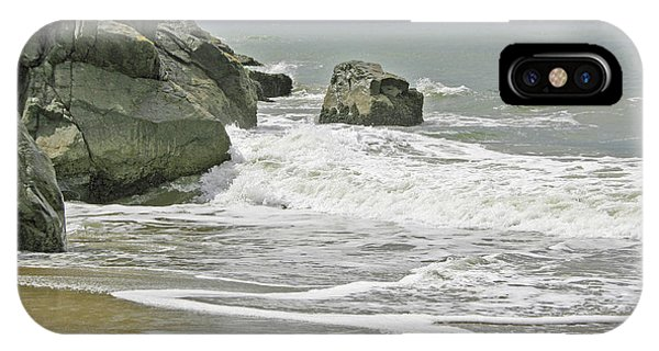 Rocks, Sand And Surf IPhone Case