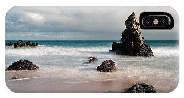 Rocky Beach On Sango Bay IPhone Case