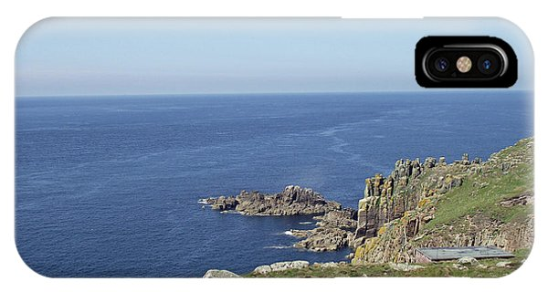 Rocky Coastline At Land's End IPhone Case