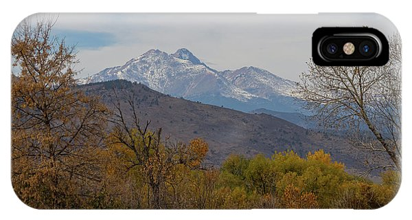 Rocky Mountain Foothills View IPhone Case