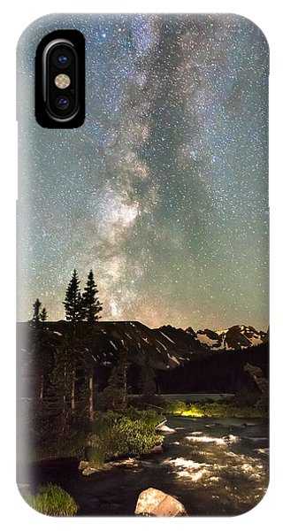 Indian Peaks Wilderness iPhone Case - Rocky Mountain Night by James BO Insogna