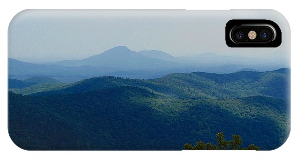 Rocky Mountain Overlook On The At IPhone Case