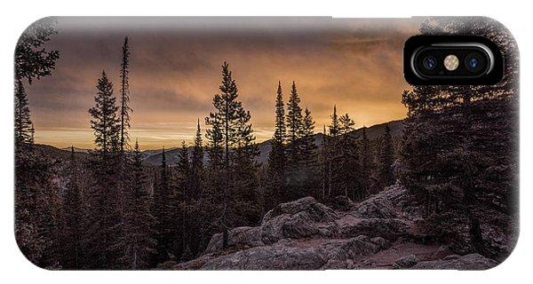 Rocky Mountain Skyfire IPhone Case