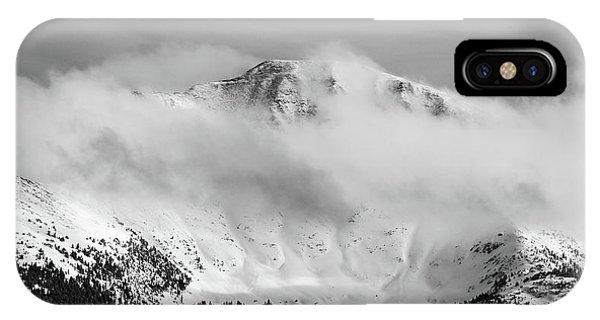Rocky Mountain Snowy Peak IPhone Case