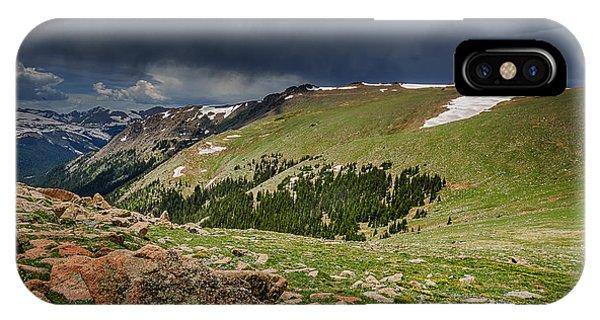Rocky Mountain Strorm IPhone Case