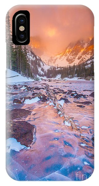 Rocky Mountain Sunrise IPhone Case