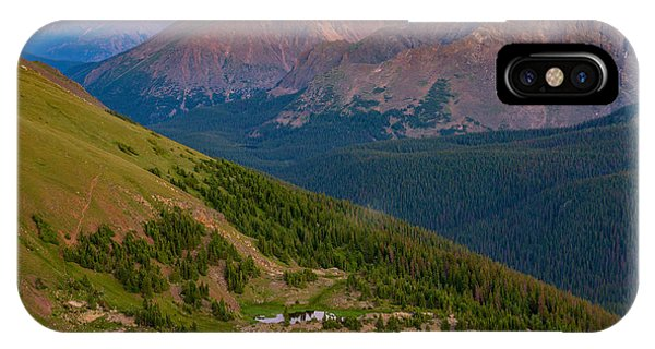 Rocky Mountain iPhone Case - Rocky Mountain Wilderness by Darren  White