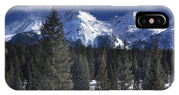 Rocky Mountains, Colorado IPhone Case