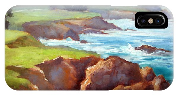 Rocky Point Afternoon Big Sur IPhone Case