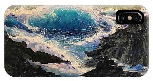 Rocky Sea IPhone Case